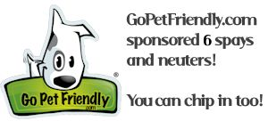 GoPetFriendly.com sponsored 5 Dogs. You can help too!