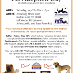 July 21: Meet Your New Dog at Pet Adoption Day in Guilderland, NY!