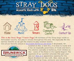 Stray Dogs Website