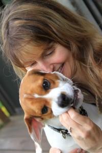 Kim Clune and Foster Puppy Alex
