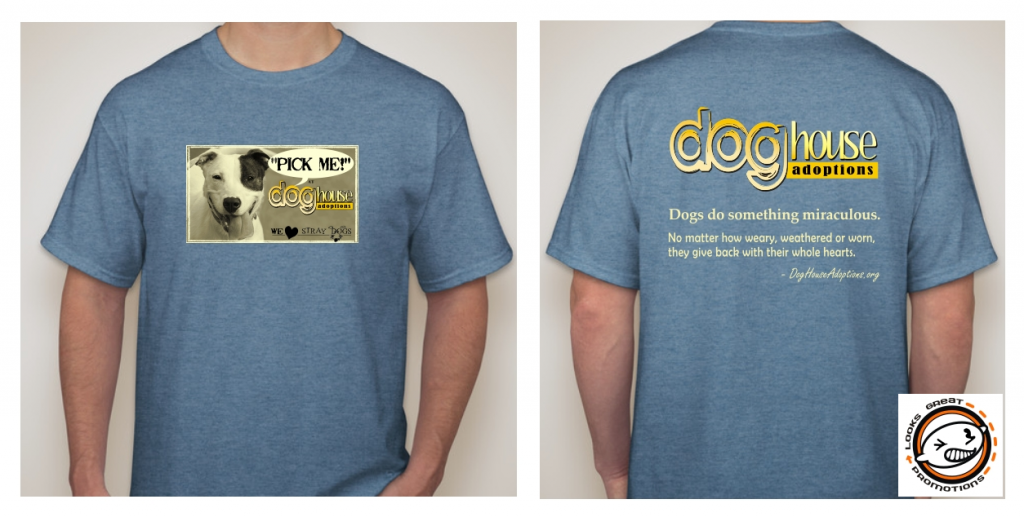 Dog House Adoptions Commemorative Tee