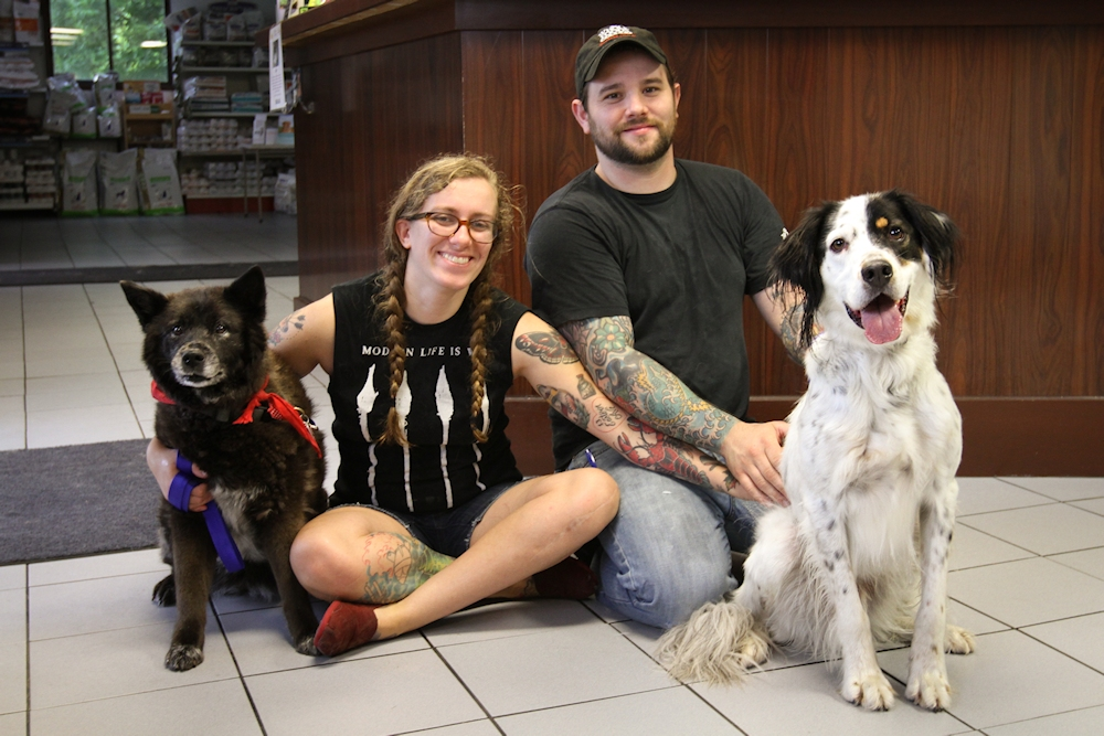 Jesse at Dog House Adoptions